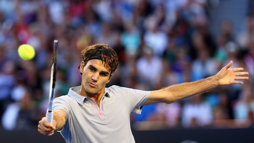 "Roger Federer: ""I thought the intensity was good, we had tough rallies and the crowd was great"""
