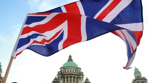 Peaceful rally held by loyalists outside Belfast City Hall