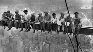 Lunch Atop A Skyscraper, the photograph taken in New York in September 1932