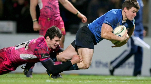 Brian O'Driscoll got Leinster's third try
