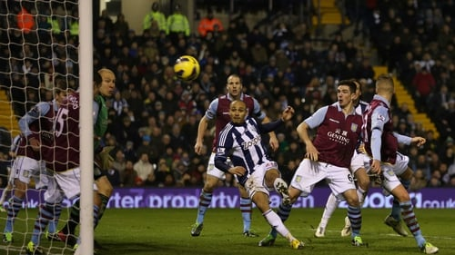 Peter Odemwingie earned a late draw for West Brom with his close-range strike
