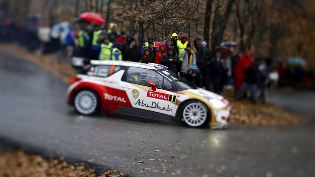 Sebastien Loeb's love affair with the Monte Carlo Rally continues