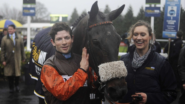 Long Run will likely sport cheekpieces and a noseband when he runs in the Cheltenham Gold Cup