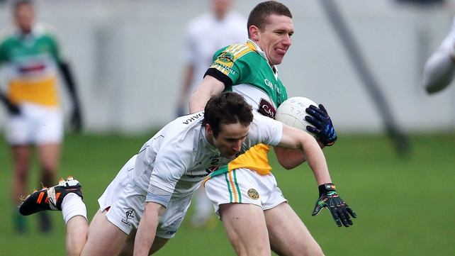Anton Sullivan goaled for Offaly in London