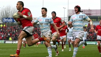 RTÉ rugby analysts Donal Lenihan and Mark McDermott analyse Munster's win over Racing and look ahead to the quarter-finals. RTÉ rugby analysts Donal Lenihan and Mark McDermott analyse Munster's win over Racing and look ahead to the quarter-finals.