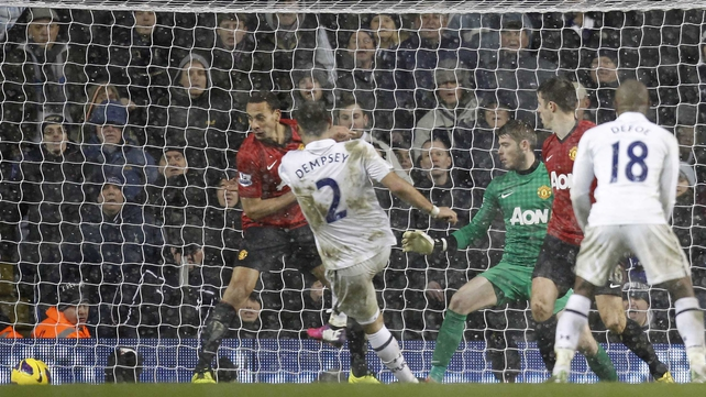Clint Dempsey proved to be Tottenham's hero with an injury-time equaliser