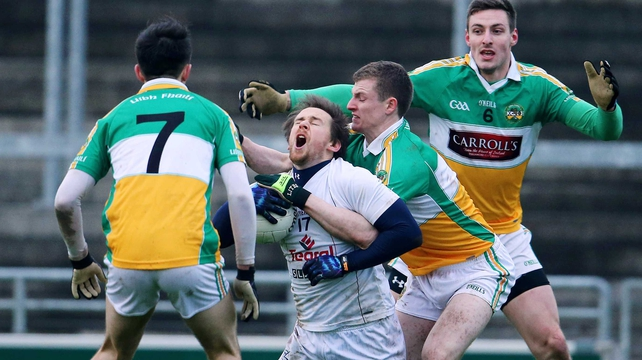 Seanie Johnston's seven points helped Kildare into the O'Byrne Cup final