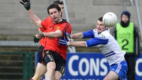 Brian Carthy reports on Monaghan's dramatic win over Down in the McKenna Cup semi-final.