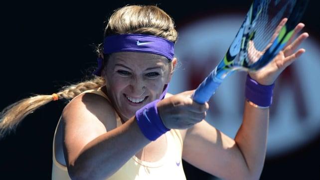 Victoria Azarenka beat Elena Vesnina 6-1 6-1 in 57 minutes