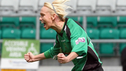 Stephanie Roche was on target as Peamount trounced DLR Waves