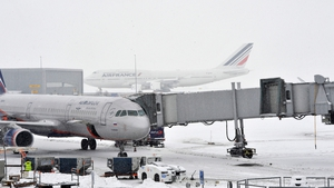 Many of Europe's major airports, such as Charles de Gaulle in Paris, have been affected by snow storms