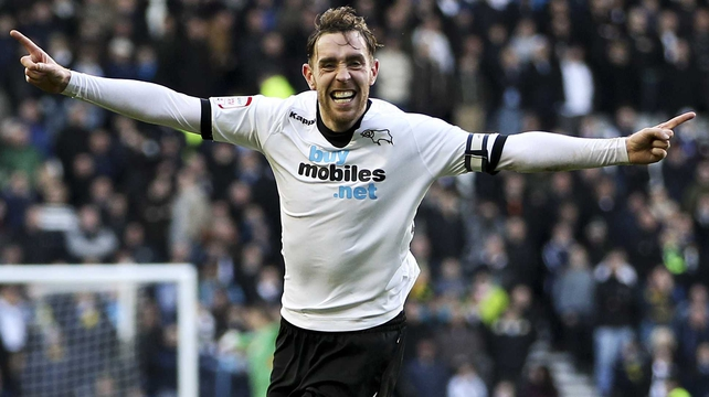 Derby's Richard Keogh has also impressed the manager