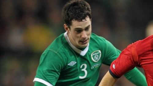 Greg Cunningham has been brought into the Ireland squad