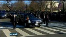 Celebrations as Obama sworn in in public ceremony