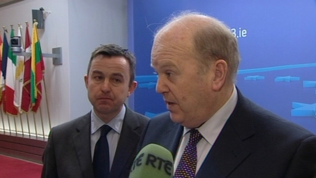 Michael Noonan said the move recognises the efforts being made by well-performing programme countries