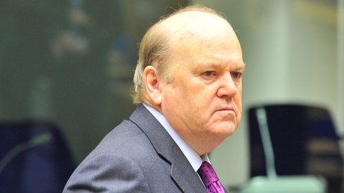 Michael Noonan said banks had been given the wherewithal to do more on the mortgage arrears crisis