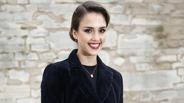 Alba at Paris haute couture fashion week