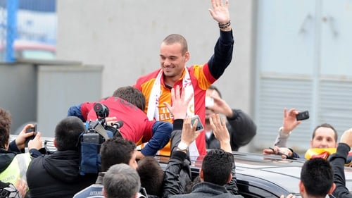 Wesley Sneijder has joined Galatasaray