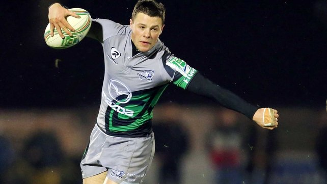 Robbie Henshaw is set to make his Ireland Under-20 debut