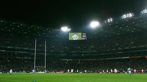 "Ireland take on England at Croke Park in 2007: ""it is shrouded in a political atmosphere even if it doesn't matter to the players who are playing"""