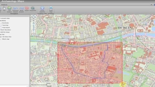It will use online mapping technology to show details and locations of 40 years of digs in the city