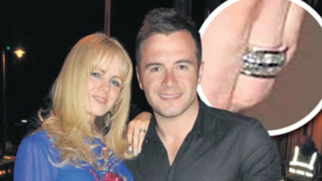 Shane Filan has been allowed to keep a €38,000 wedding ring