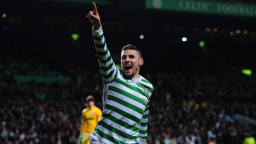Gary Hooper bagged a brace for the Bhoys