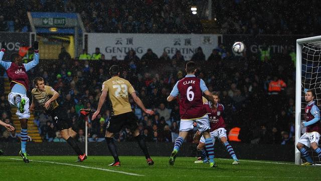 James Hanson Bradford goal