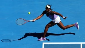Sloane Stephens got the better of Serena Williams today