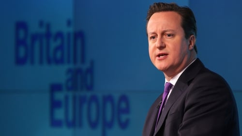 David Cameron said 'it would be a one-way ticket' if Britain left the union