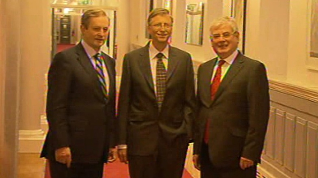 "Bill Gates says he is a ""friend of Ireland"""