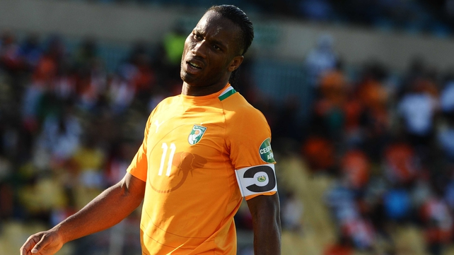 Didier Drogba is currently playing with Ivory Coast at the Africa Cup of Nations