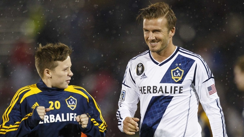 David Beckham is still pondering his next move after leaving LA Galaxy