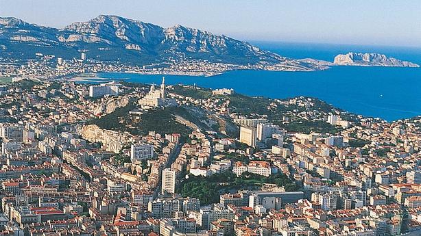 Marseille's coastal view