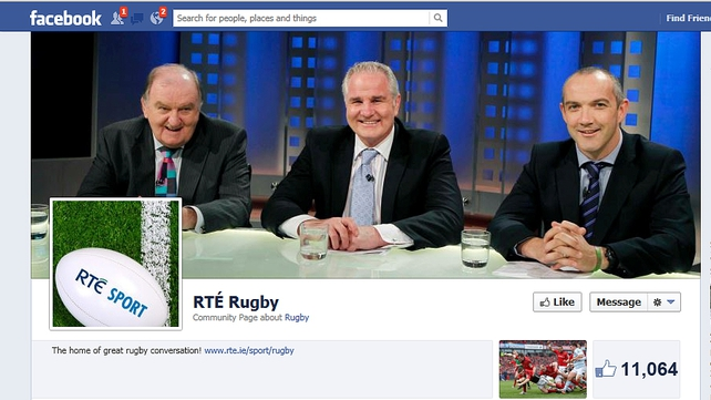 Follow the action on Facebook at facebook.com/rterugby