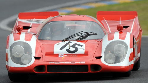 A Porsche 917 is pictured here