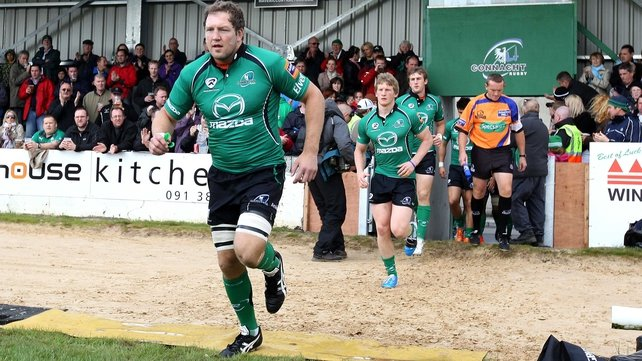 Michael Swift will lead Connacht out again against Zebre