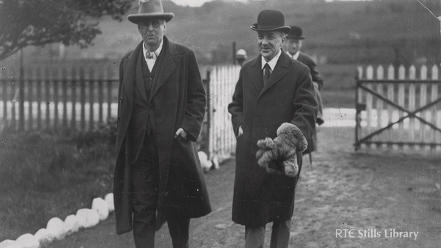 W.B. Yeats and Oliver St. John Gogarty, 1924