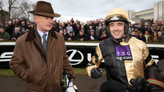 It's been a terrific two days for the Mullins/Walsh partnership
