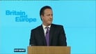 Cameron pledges to seek new EU deal if re-elected