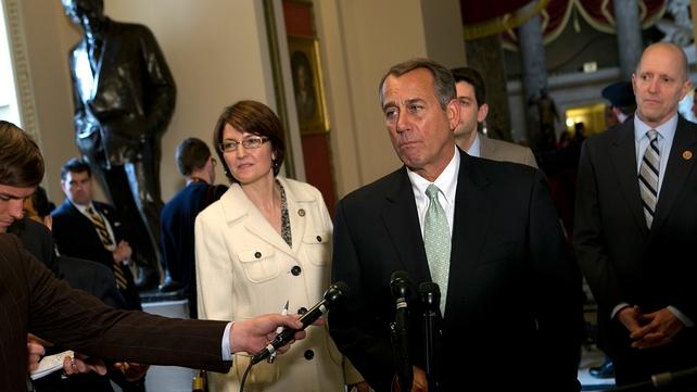 House Speaker John Boehner said Republicans want reforms