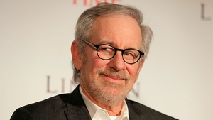 "Director Steven Spielberg has predicted a Hollywodd film ""implosion"""
