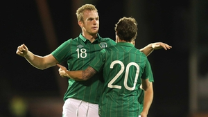 Alex Pearce scored against Oman in his previous friendly outing