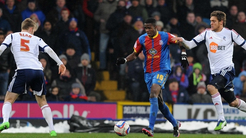 Wilfried Zaha has been a standout performer in the Championship with Crystal Palace