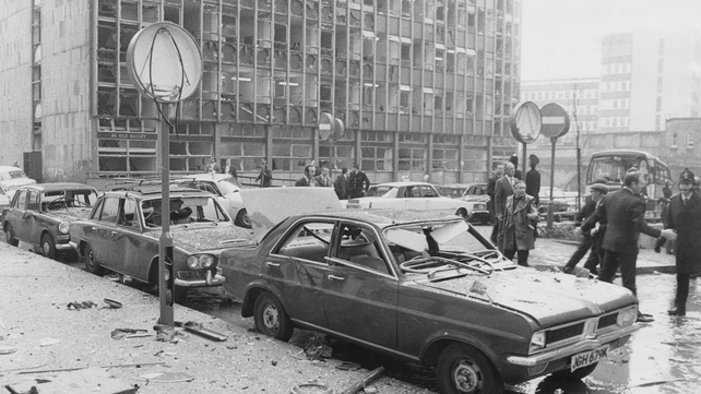 Dolours Price was involved in the bombing of the Old Bailey 40 years ago