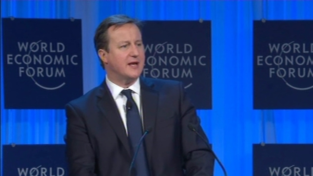 David Cameron said his party would campaign for the 2015 election on a promise to renegotiate terms of Britain's EU membership