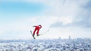 Kento Sakuyama of Japan enjoys a bird's eye view of Sapporo at the FIS Men's Ski Jumping World Cup at Okurayama Jump Stadium