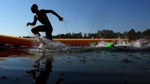 Mens Triathlon during day three of the 2013 Australian Youth Olympic Festival