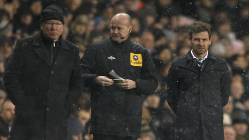 Alex Ferguson could face a touchline suspension