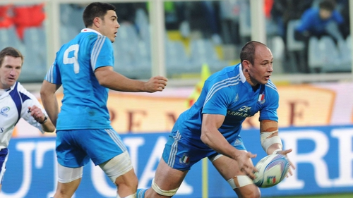Sergio Parisse is set to line out against England on Sunday
